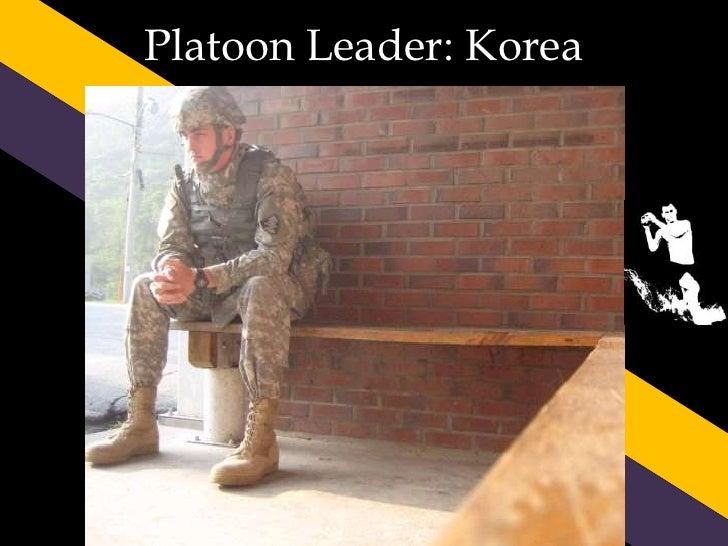 Platoon Leader: Korea<br />