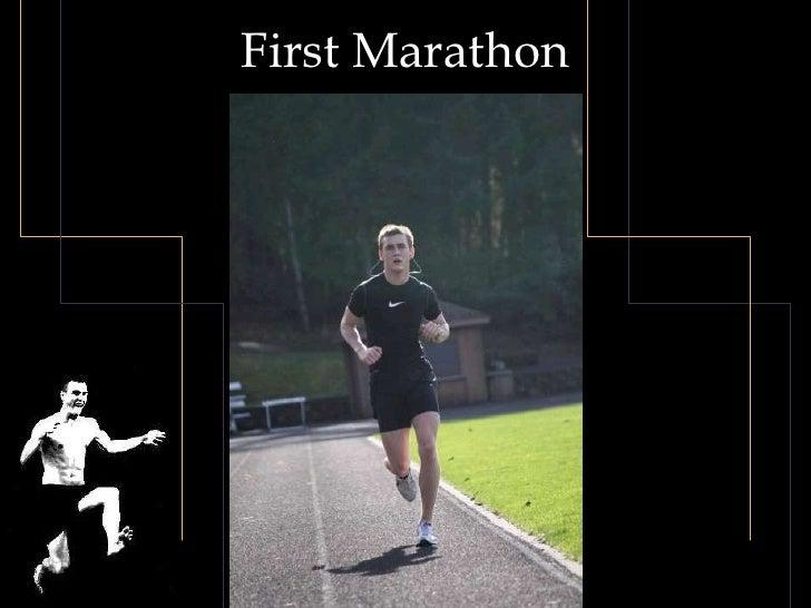 First Marathon<br />