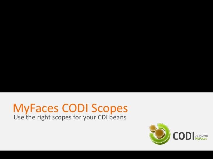 MyFaces CODI Conversations