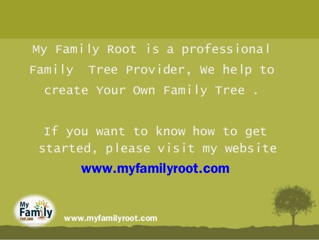benefits of family tree create family history