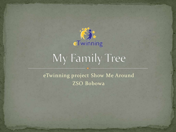 eTwinning project Show Me Around          ZSO Bobowa