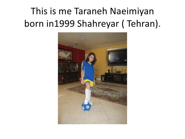 Taraneh's Family Tree Slide 2