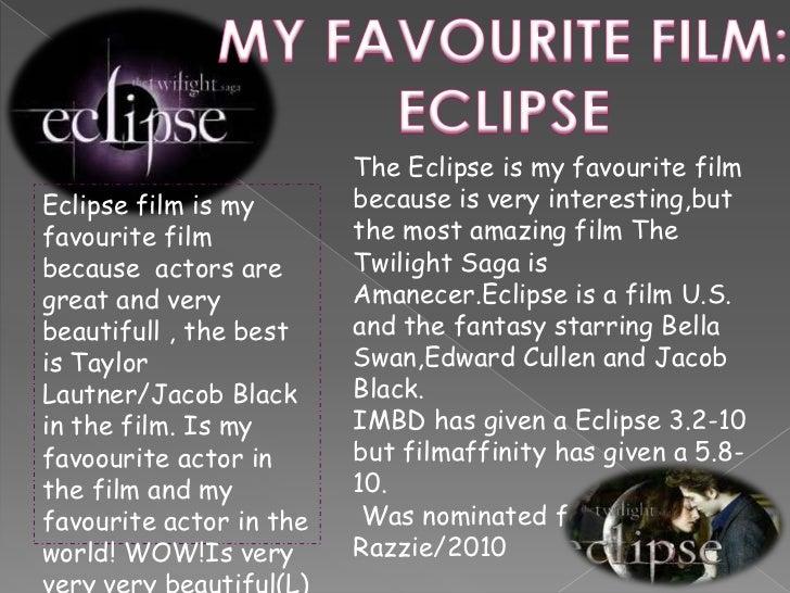 Essay on favourite movie