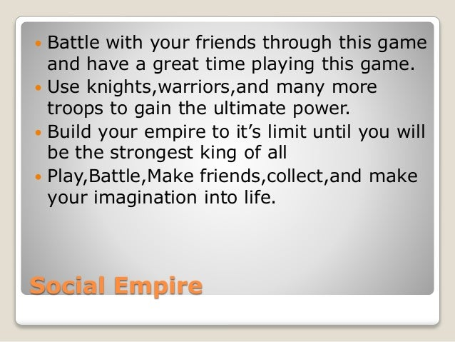  Battle with your friends through this game  and have a great time playing this game.   Use knights,warriors,and many mo...