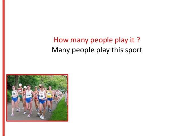 my favourite sport running