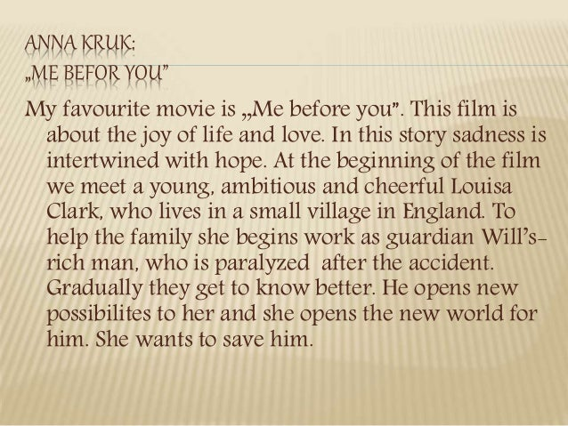 paragraph on my favourite movie