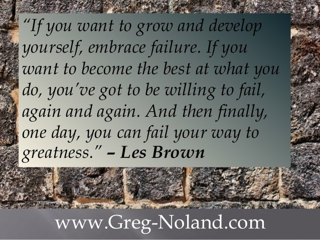 Les Brown Quotes Simple My Favourite Les Brown Quotes