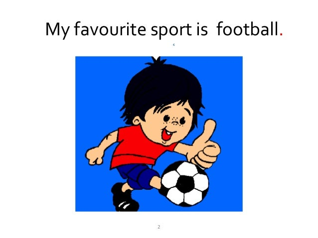 my favorite sports football