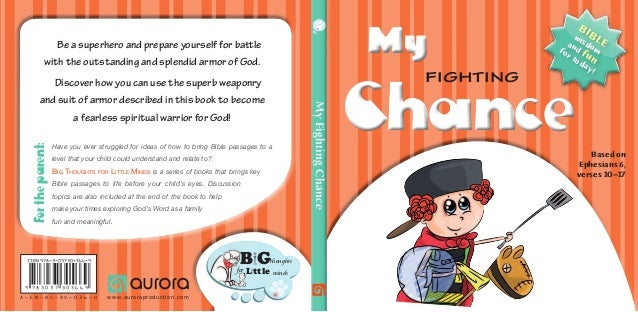 MyFightingChance Fortheparent: Have you ever struggled for ideas of how to bring Bible passages to a level that your child...