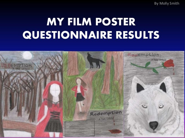 MY FILM POSTER QUESTIONNAIRE RESULTS By Molly Smith