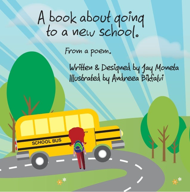 New School - My First Day (Short children's book about going