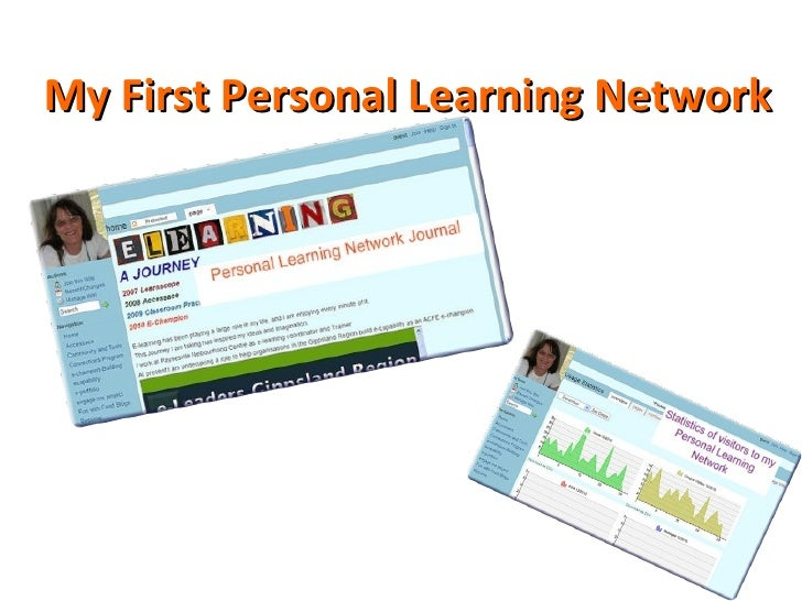 My First Personal Learning Network