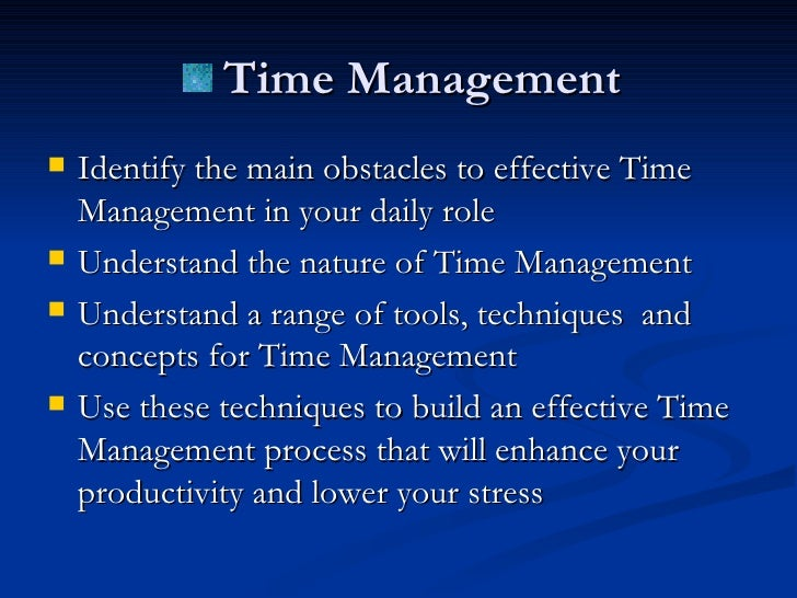 the importance of time managment Effective time management is the key to success read on to know more on importance of time management.