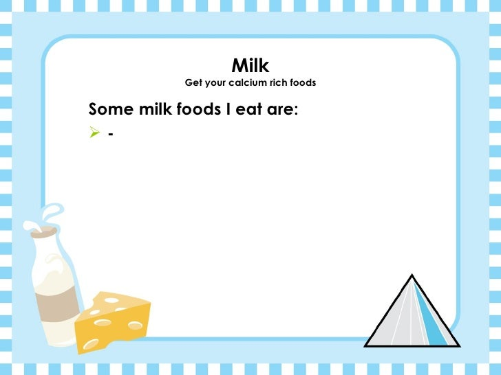 my food pyramid template