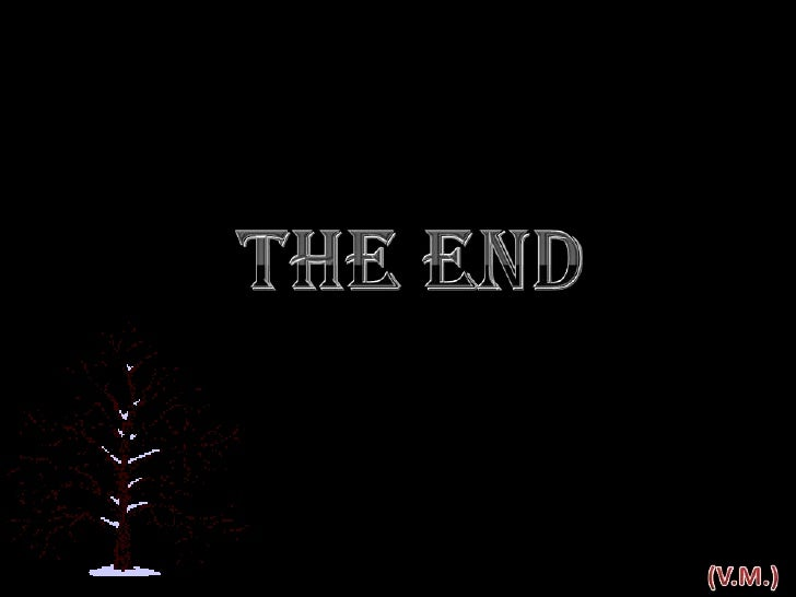 The End<br />(V.M.)<br />