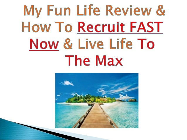 MyFunLIFE, founded in March 2013, is a privately held network marketing company based in Coeur d'Alene, Idaho  MyFunLIFE M...