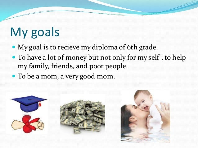 dream and goals essay