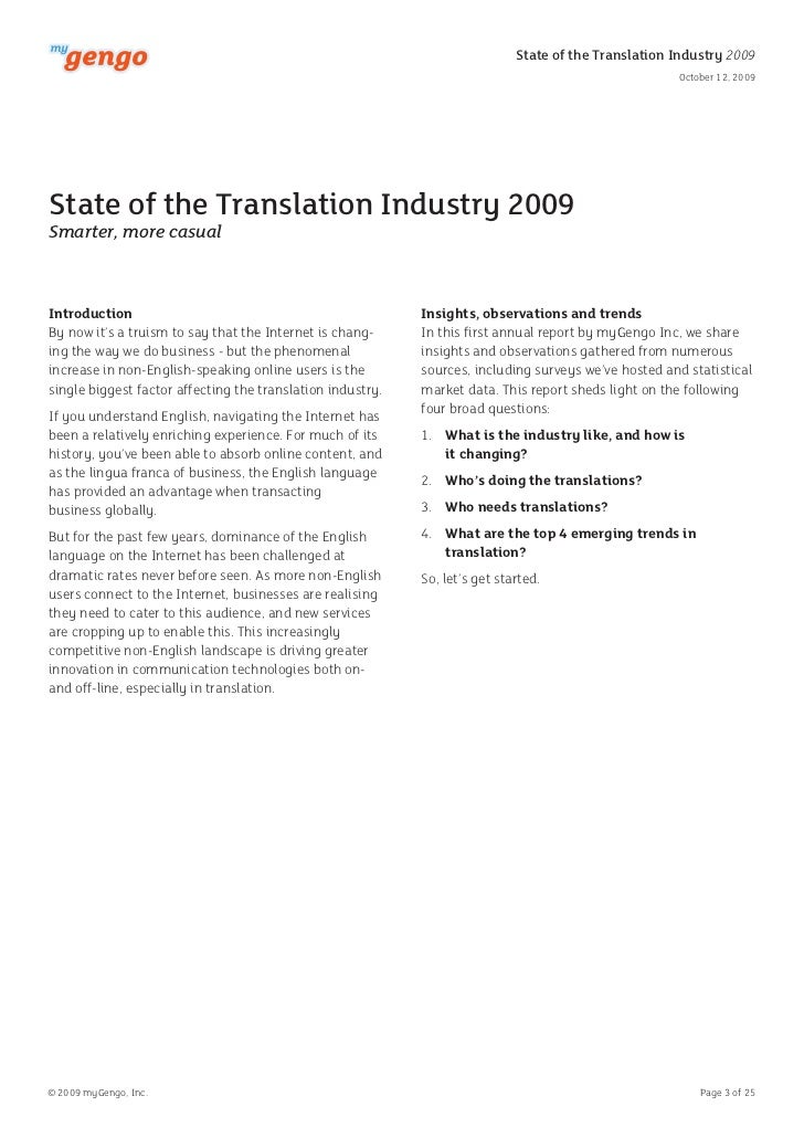 3 State Of The Translation