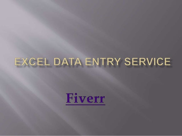  Services:  - Excel Data Entry Services  - Html To Excel Data Entry  - Xml To Excel Data Entry  Text To Excel Data En...