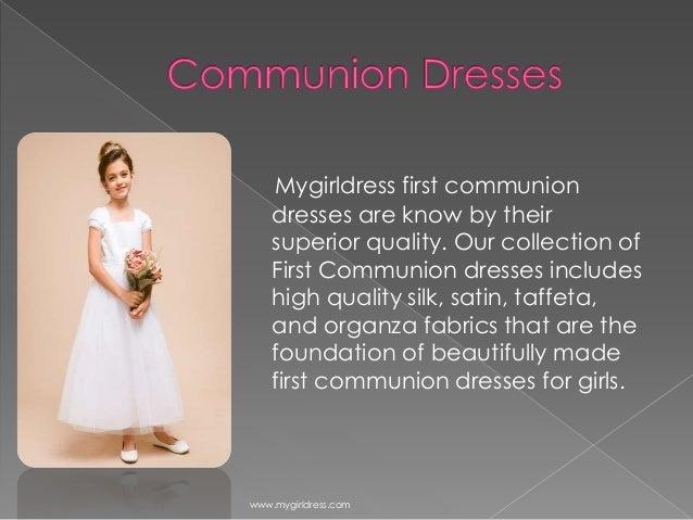 Mygirldress first communion dresses
