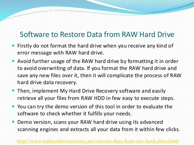 how to retrieve files from hard drive