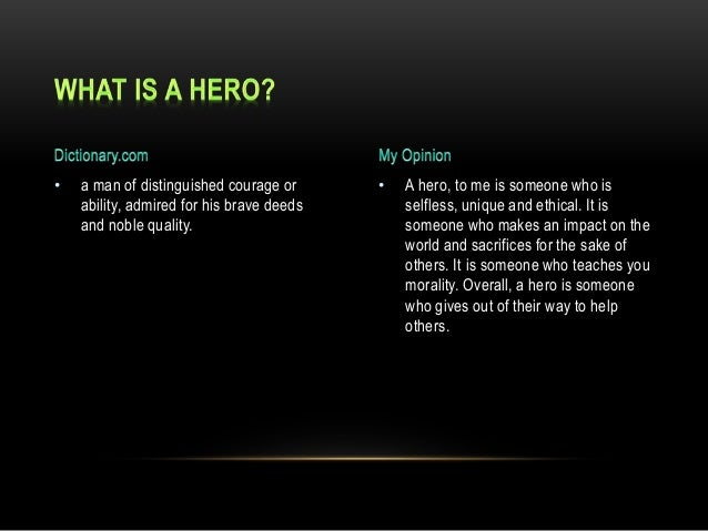 what is a hero for you