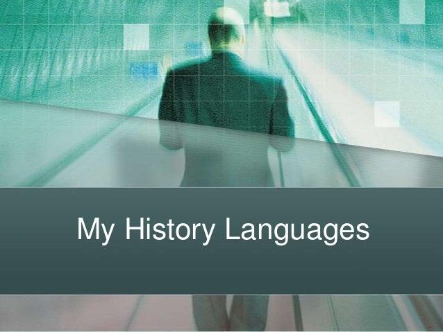 My History Languages