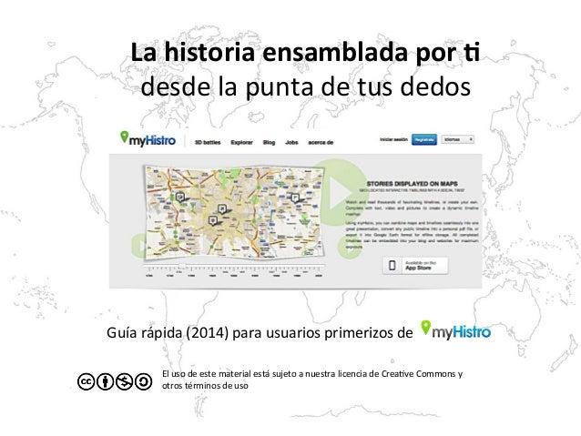 Guía  rápida  (2014)  para  usuarios  primerizos  de   La  historia  ensamblada  por  1   desde  ...