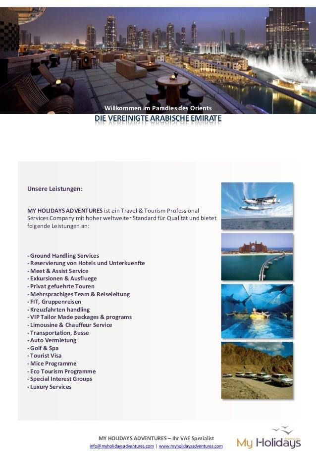 MY HOLIDAYS ADVENTURES Profile (german) Slide 2