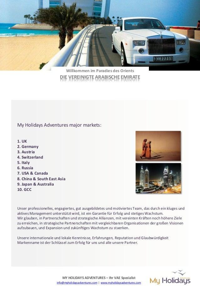 MY HOLIDAYS ADVENTURES Profile (german) Slide 3
