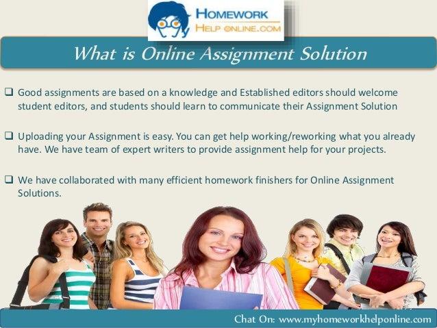 online homework help chat