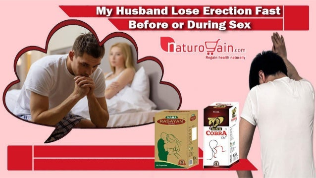 Erection loss during sex