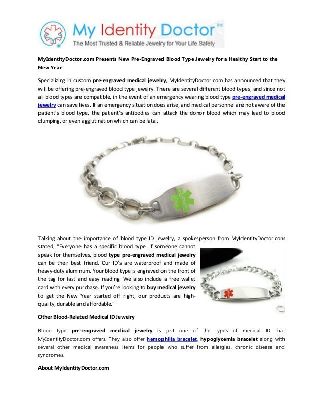 plastic bracelet hemophilia id china alert medical product syrmuokcnuvp