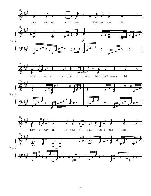 Piano immortals piano sheet music : My immortal evanescence piano sheet music