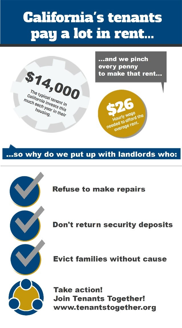 The cost of being a California tenant...