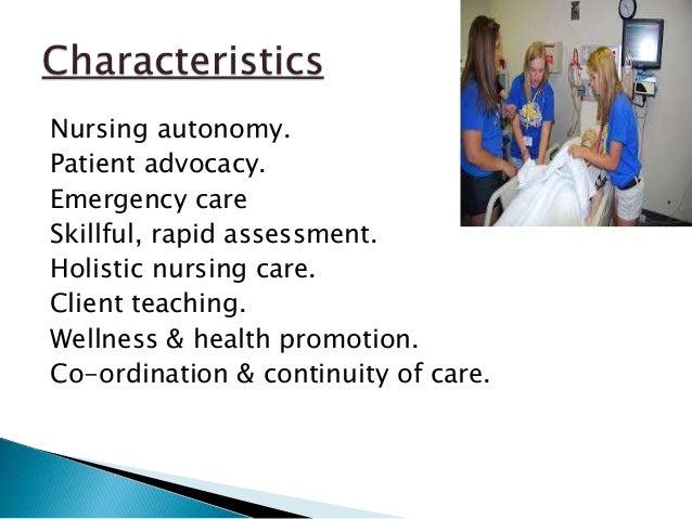 Recent trends in nursing care essay