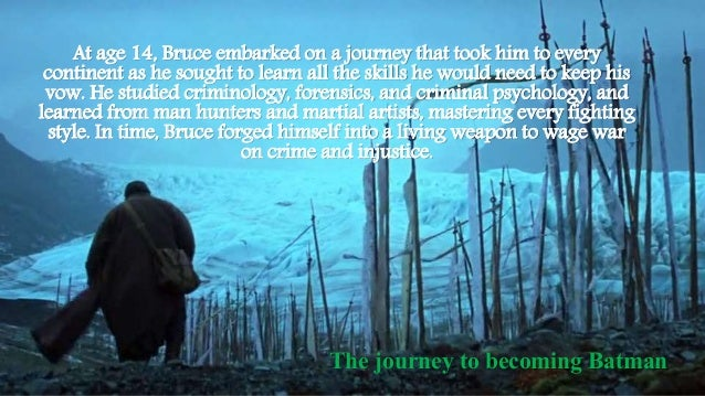At age 14, Bruce embarked on a journey that took him to every continent as he sought to learn all the skills he would need...