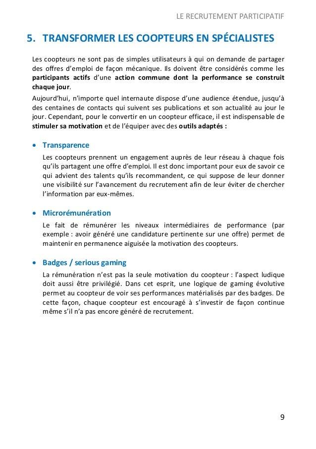 Livre Blanc Le Recrutement Participatif