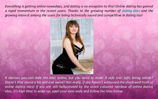 What is secure dating online