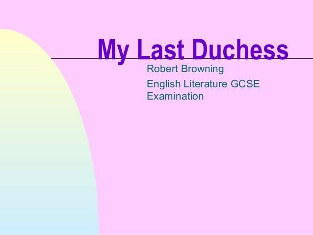 Benefits of paraphrasing my last duchess