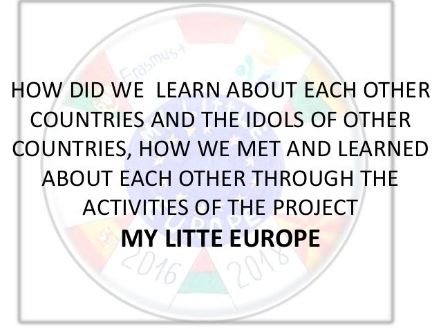 HOW DID WE LEARN ABOUT EACH OTHER COUNTRIES AND THE IDOLS OF OTHER COUNTRIES, HOW WE MET AND LEARNED ABOUT EACH OTHER THRO...