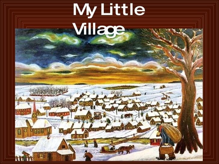 My Little Village