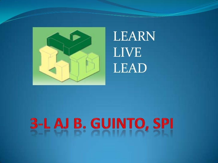 LEARNLIVELEAD