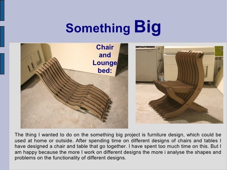 Something Big                                    Chair                                     and                            ...