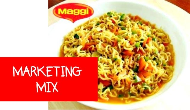 marketing mix of maggi ketchup Marketing project on 4p's of maggi tomato ketchup  the concept of the marketing mix subject to the internal and external constraints of the marketing environment.