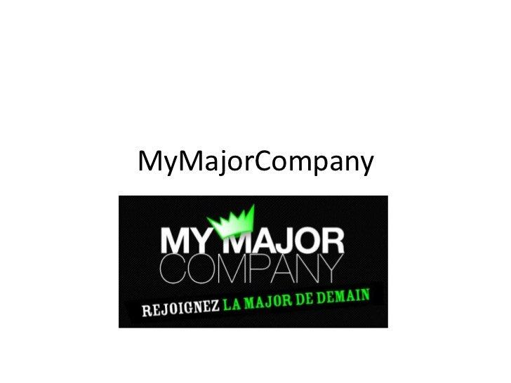 MyMajorCompany