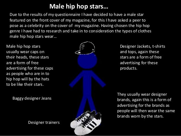 Male hip hop stars… Male hip hop stars usually wear caps on their heads, these stars are a form of free advertising for th...