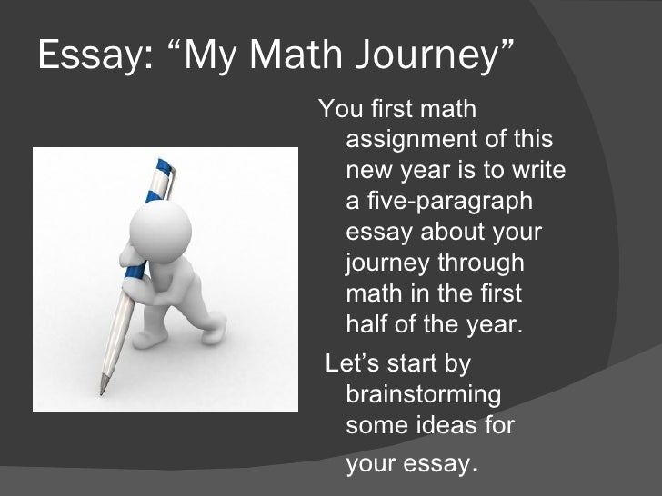 "my math journey essay ""my math journey"""