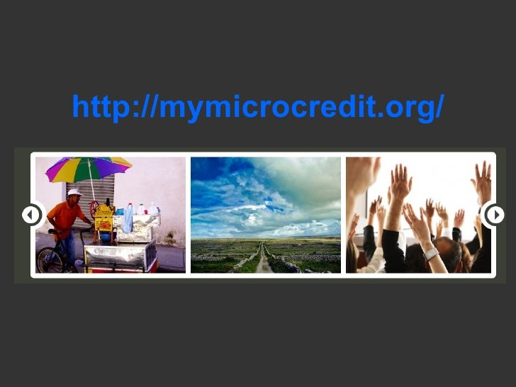 http://mymicrocredit.org/