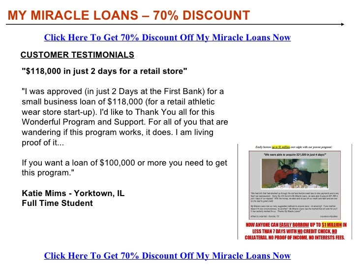 <ul><li>Business loans  — imagine if nothing could stop you from borrowing millions anytime you wanted to for your busines...